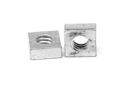"3/8""-16 Coarse Thread Square Machine Screw Nut Zinc Plated"
