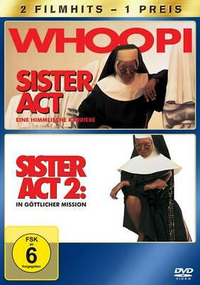 Sister Act 1+2  [2 DVDs]