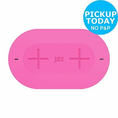 Juice Duo Pad Qi Enabled 10W Wireless Charger - Pink