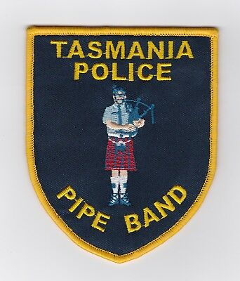 Tasmania Police Pipe Band Patch (social)