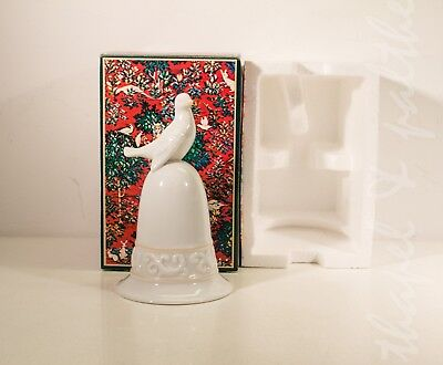 Vintage AVON Porcelain Dove Bell (Tapestry Collection, 1981)