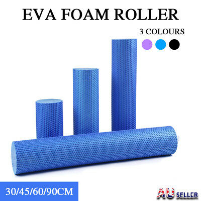EVA Yoga Foam Roller Physio Back Training Pilates GYM Home Back Exercise Massage