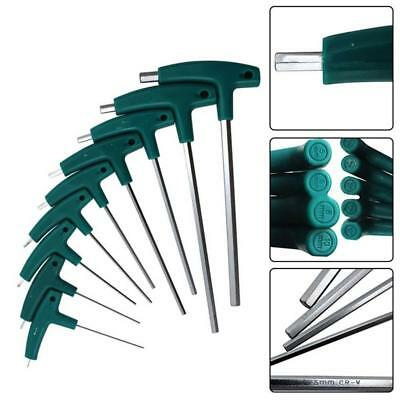 Allen Hex Keys T-Shaped Wrench Inner Six Angle Screwdrivers 1.5~10mm