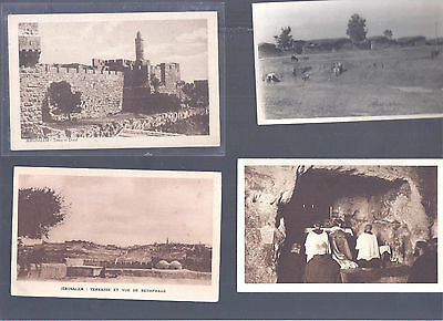 Israel Palestine Judaica Very Rare Old  Early  10 Postcards  Most Never Seen Iii