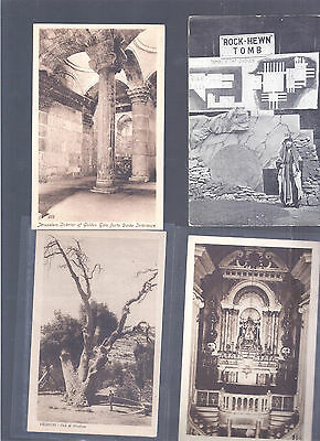 Israel Palestine Judaica Very Rare Old  Early  10 Postcards  Most Never Seen Ii