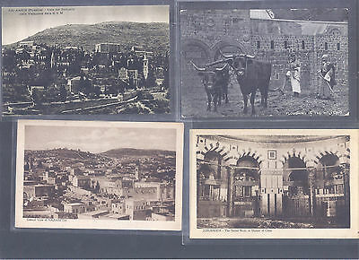 Israel Palestine Judaica Very Rare Old  Early  10 Postcards  Most Never Seen