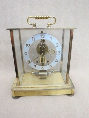 Vintage Kundo Kieninger Electro Magnetic Mantel Clock For Spares Or Repair