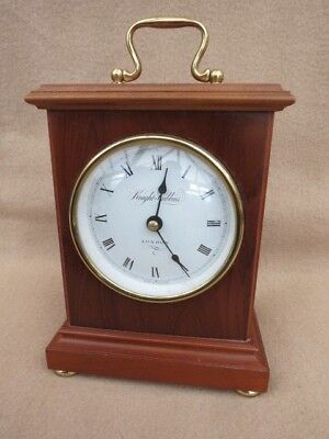 Wooden Cased Knight & Gibbins Spring Driven Carriage Clock For Light Tlc