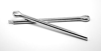 """1/4"""" x 1 1/2"""" Cotter Pin Low Carbon Steel Zinc Plated"""