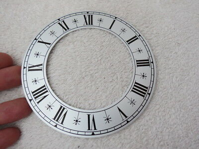 New Old Stock Thick Aluminium 13.5 Cm Clock Chapter Ring