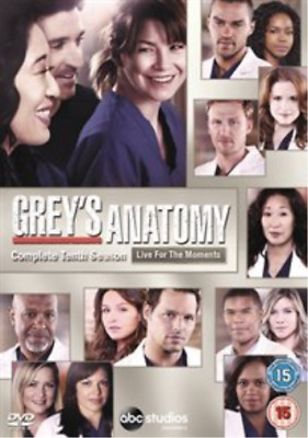 Ellen Pompeo, Justin Chambers-Grey's Anatomy: Complete Tenth Season DVD NEW