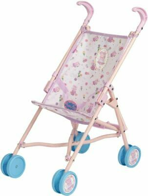 Peppa Pig Doll Buggy Stroller Kids Toy Pram Pushchair Toy Toddler Girl Gift