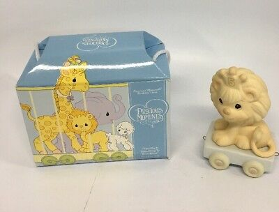 "Precious Moments Birthday Train ""This Day Is Something To Roar About"" New NIB"