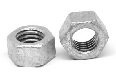 "5/8""-11 Coarse Thread Finished Hex Nut Hot Dip Galvanized"