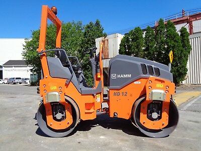 UNUSED New 2017 Hamm HD12VV Double Drum Vibrating Roller