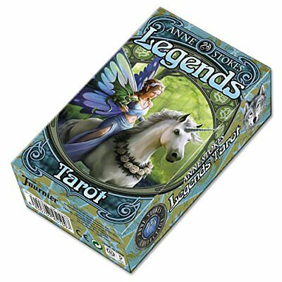 Tarot Cards Legends -Anne Stokes - Future Telling Mystic Magic Wicca Pagan