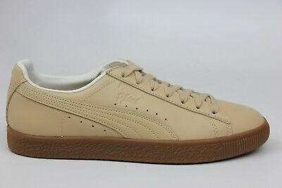 2b1854409a9 Puma X Naturel Clyde Tan Leather Gum Bottom Mens Size Sneakers 364451-01