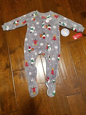 New FAMILY PJs Gray Happy Gnomes Baby s Size 18M Sleepwear Pajamas  Christmas  34 c15a84f95