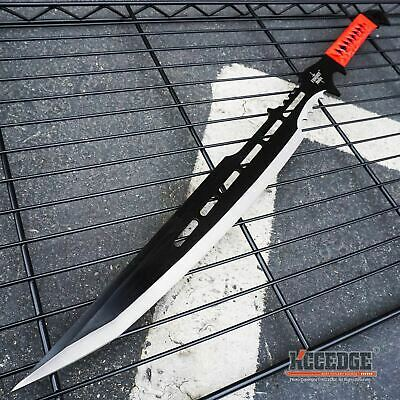 "28"" Red Honor FULL TANG Fantasy Ninja TACTICAL Sword MACHETE"