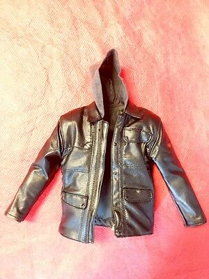 1/6 Hot Toys Terminator Genisys T-800 Guardian LEATHER JACKET ONLY JC