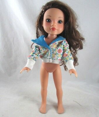 Hearts for Hearts Girls Doll Dell Brunette Blue Eyes Freckles Playmates 2010