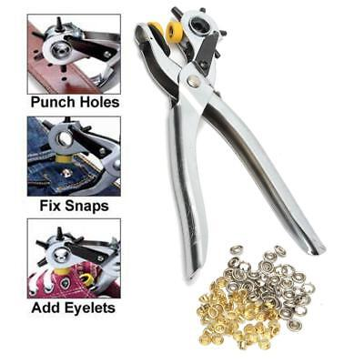 New Hotsale Puncher Heavy Duty Leather Hole Punch Hand Pliers Belt Holes Punches
