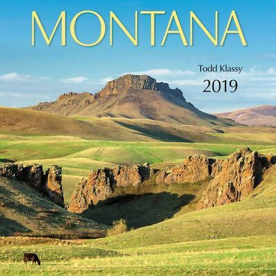 2019 Montana Wall Calendar, More U.S. States by American West Books