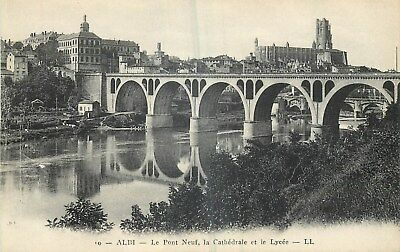 81 Albi Pont-Neuf Cathedrale Et Lycee Ll