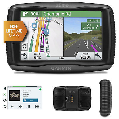 Garmin Zumo 595LM Motorcycle GPS SatNav FREE UK Europe Lifetime Maps Update NEW