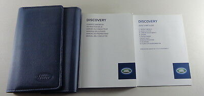 Owner's Manual + Wallet Land Rover Discovery 4 from 2013