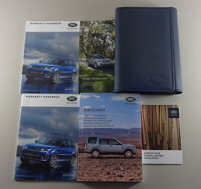 Owner's Manual + Wallet Land Rover Discovery 4 from 2015