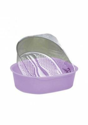 Belava Pro Salon Pedicure Starter Kit Bowl With 25 Replacement Liners - Lilac
