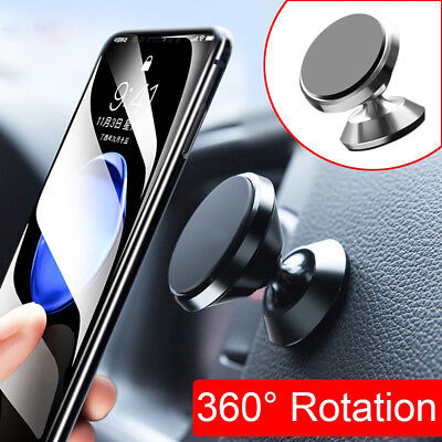 US Universal 360° Rotation Magnetic Car Mount Cell Phone Holder For Mobile Phone