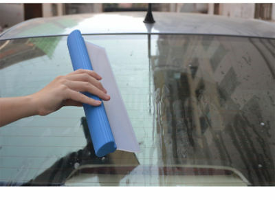 Flexi Car Window Wash Squeegee Silcone Flexy Blade Drying Vehicle Water Cleaner