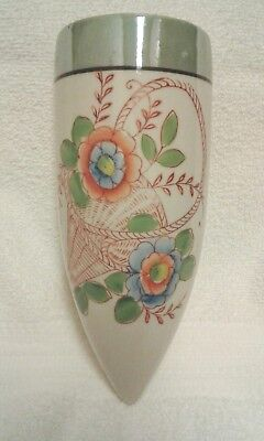 Hotta Yu Shoten & Co Vintage  Porcelain Wall Pocket_Sconce 1920's-1930's .