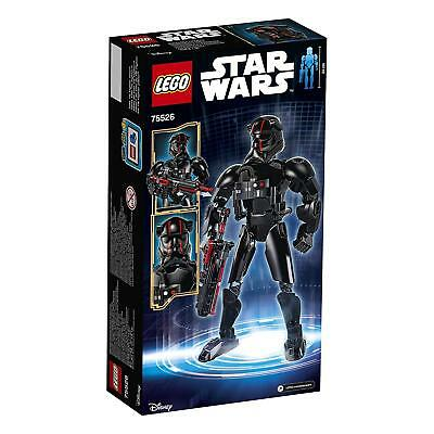 Lego 75526 Elite TIE Fighter Pilot Construction Toy Character Figure For 8 - 14