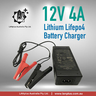 12V 4A  Lithium Lifepo4 Battery Charger / Supply 12.8v 4A Switching power supply
