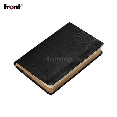 Retro Notebook Lined Paper A6 Notepad Leather Journal Diary Note f/ Student R3W5
