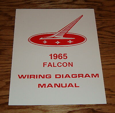 1965 ford falcon wiring diagram manual 65