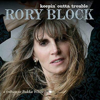 Rory Block - Keepin' Outta Trouble (A Tribute To Bukka White) (NEW CD)