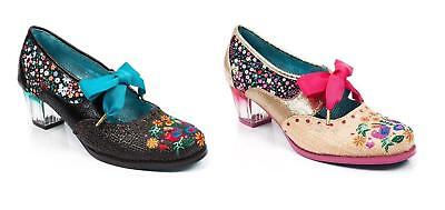 By Shoes Heel Irregular Choice Mid Poetic 'birdie Pop' Licence Rrp ZUq7WWnR