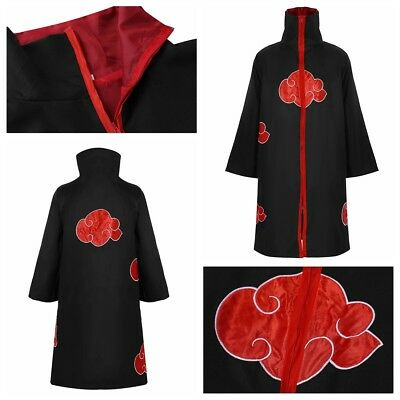 Anime Costume Unisex Cape Zip Up Long Sleeve Cosplay Halloween Party Fancy Cloak