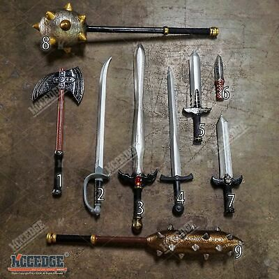 Medieval Foam Sword Weapon Halloween Costume Cosplay Party Larp Toy