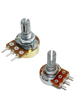 1 5 10 20 50 100 500 K M ohm Linear Mono Dual Gang Pot Potentiometer