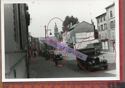 TOP RARE photo orig all NANCY VEHICULE OFFICIER WEHRMACHT  FRANCE 1940 ww2 M37