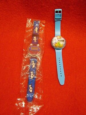 Lot of 2 Promotional Advertising Watches PILLSBURY DOUGHBOY & TRIX New