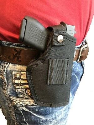GUN HIP HOLSTER for Ruger SR-45 with TACTICAL FLASHLIGHT or
