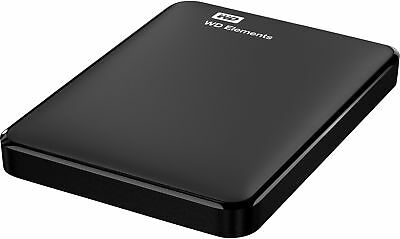 WD Festplatte Elements USB 3.0 extern 1 TB 82 x 111 x 15 mm 130 g
