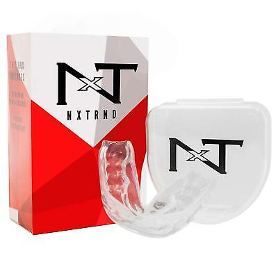 NEW Night Mouth Guard For Grinding Teeth Bite Guard Helps TMJ Bruxism Pack Of 6