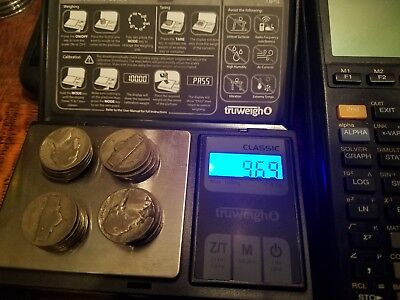 35% Silver War Nickels $1 Face Value Avg Cir. -- 20 coins per item